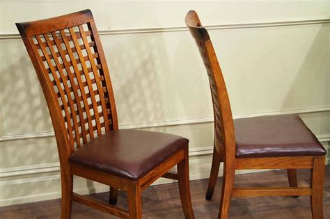 Tropical Dining Chairs Set Of 6 Dining Room Chairs Tropical Style Wood Chairs Waffle Back Ebay