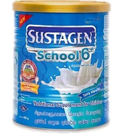 Sustagen School 6 6 12btahun sustagen school 6 ibl healthcare
