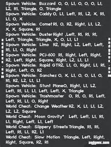 les codes de triche gta 5 r 233 sum 233 s en images xbox one