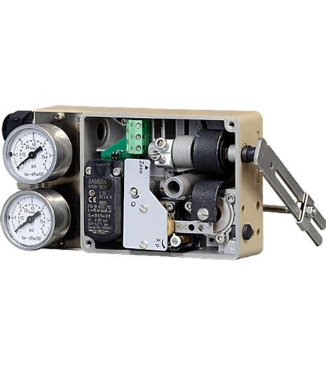 Electropneumatic Positioner 4763 electro pneumatic positioner samson