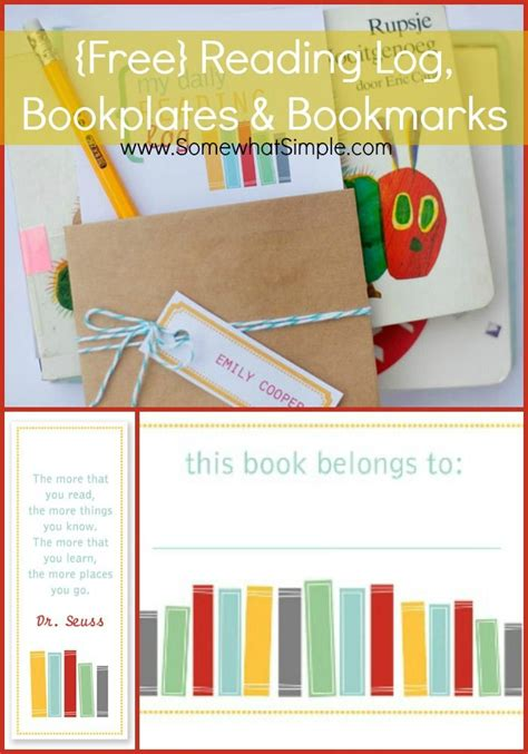 printable reading log bookmarks 1000 images about bookmarks bookplates on pinterest