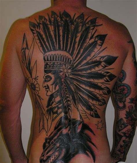 cherokee tattoo designs indian headdress tattoos studio design