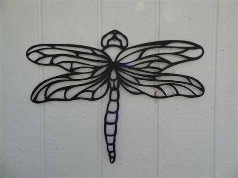 custom dragonfly 2ft metal wall home garden kitchen