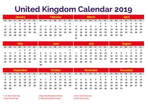 printable  holidays calendar united kingdom uk uk holidays holiday calendar calendar