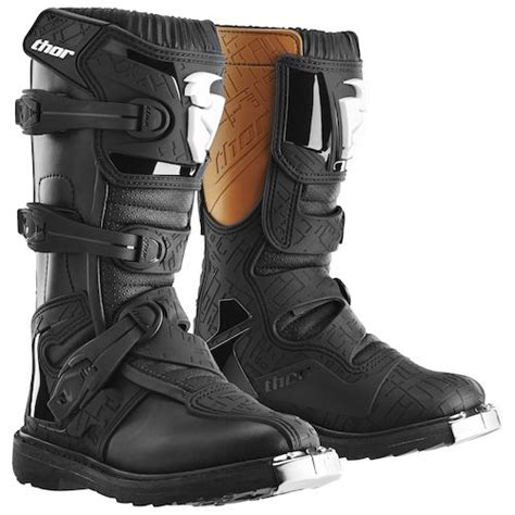 thor motocross boots thor youth blitz ce boots revzilla