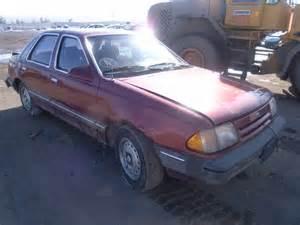 1987 Ford Tempo 1fabp39s9hk190123 Bidding Ended On 1987 Burgundy Ford