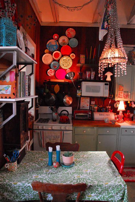 colorful boho chic kitchen design ideas interior god