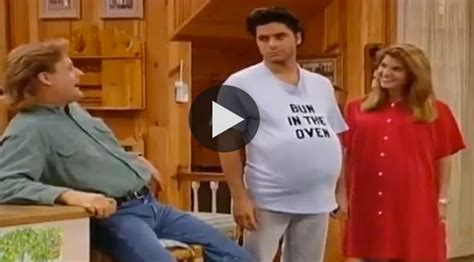 uncle jesse full house uncle jesse from full house is pregnant for a day gt gt gt i remember this full house