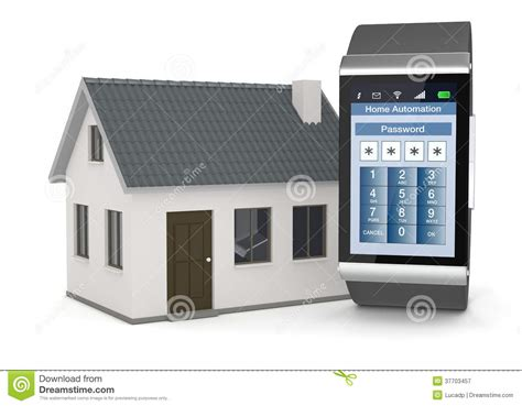 28 home automation royalty free stock home