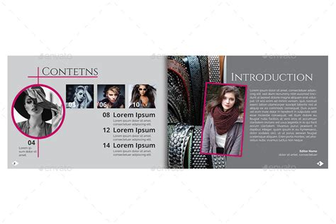 a5 fashion brochure booklet template by reusam