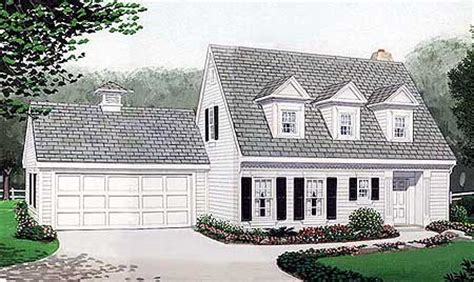cape cod house plans with attached garage cape cod home plan 19210gt 1st floor master suite