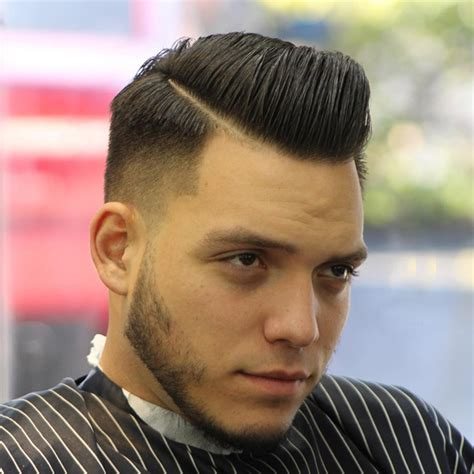 style your hair with the best comb over low fade haircut