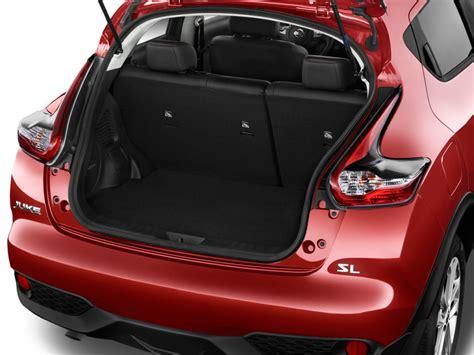 nissan juke interior trunk image 2016 nissan juke 5dr wagon cvt sl fwd trunk size