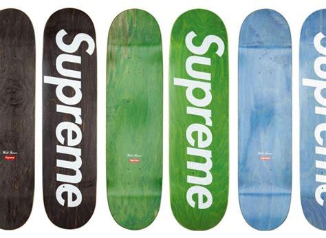supreme stained logo decks highsnobiety