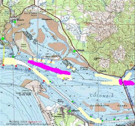 columbia river fishing map lower columbia buoy 10 salmon fishery saltpatrol