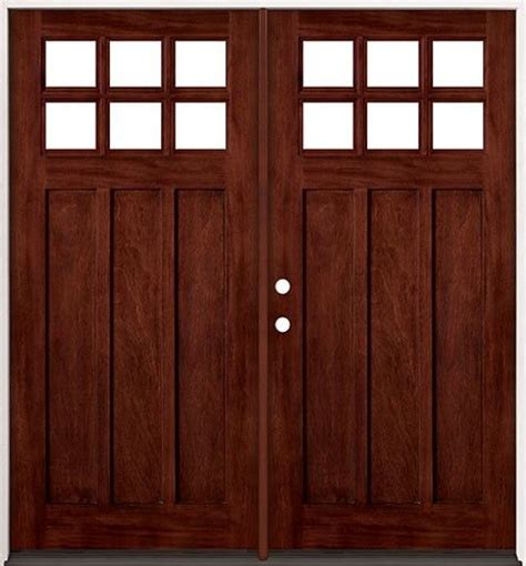 Wooden Doors With Glass by Custom Made Exterior Front Entry Wooden Doors Solid Wood