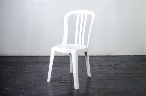 White Plastic Bistro Chairs White Bistro Chairs Plastic Bistro Chairs White Plastic Equipment Hire Hire Garden Furniture