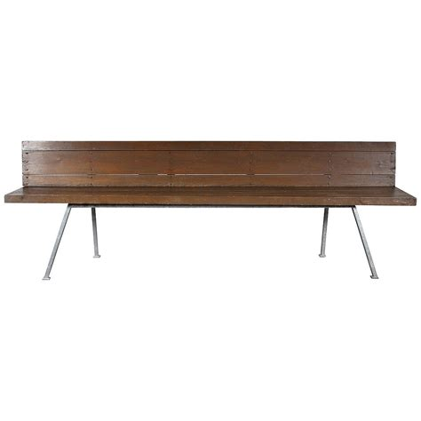 van bench rare dom hans van der laan bench 1967 for sale at 1stdibs