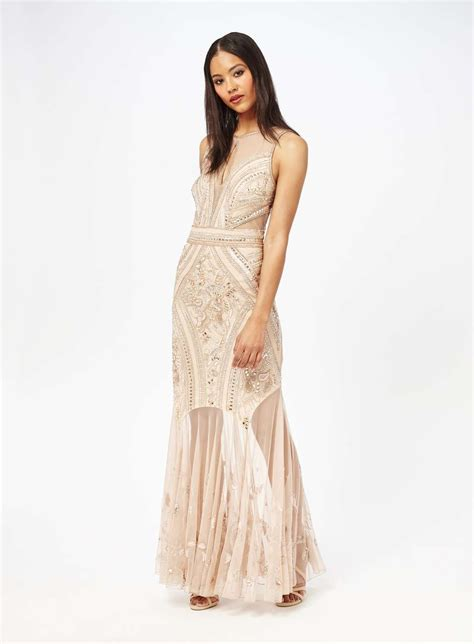 Miss Selfridge Embelished Dress embellished maxi dress miss selfridge clothes