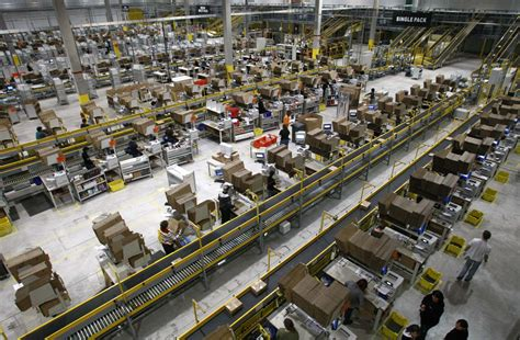 amazon warehouse inside amazon warehouses around the world