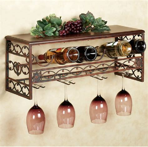 decorative wine racks for home wall hanging retro iron wine rack creative stylish bar