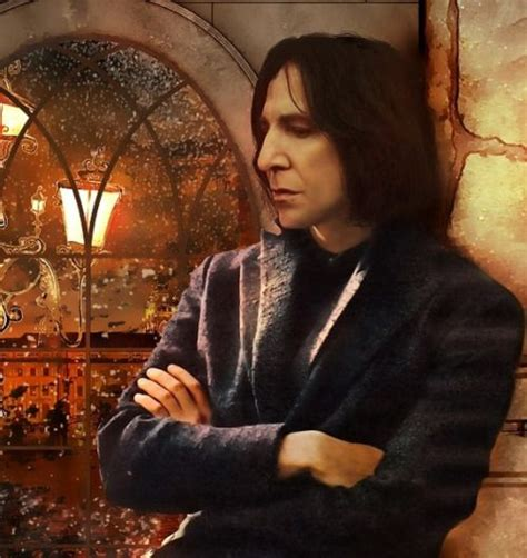 Artist: unknown. Beautiful!   Snape   Pinterest   Artist ... Unknowns About Harry Potter