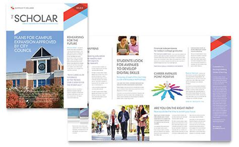 church magazine template newsletter templates indesign illustrator publisher word