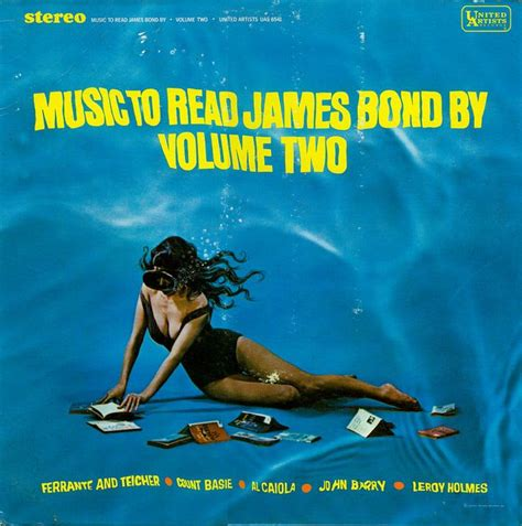 james bond volume 2 1524102725 various artists music to read james bond by volume two 1965 music james bond