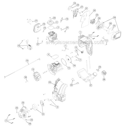 troy bilt tiller carburetor diagram troy bilt tb146ec parts list and diagram 21bk146g966
