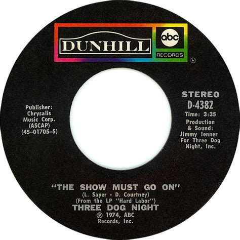 three the show must go on 45cat three the show must go on on the way back home dunhill usa