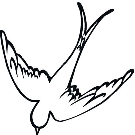 dibujos de golondrinas para graduacion dibujo de golondrina 15 para colorear dibujos para