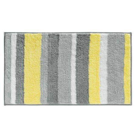 yellow and gray bath rug home decorating ideas pinterest