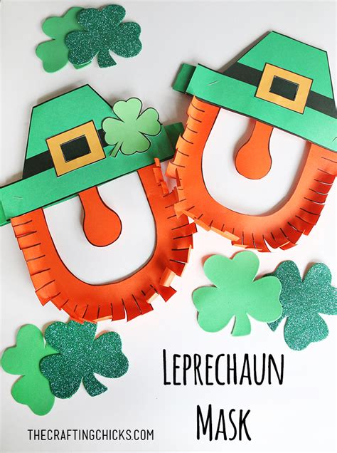 leprechaun mask template leprechaun mask template gallery free templates ideas