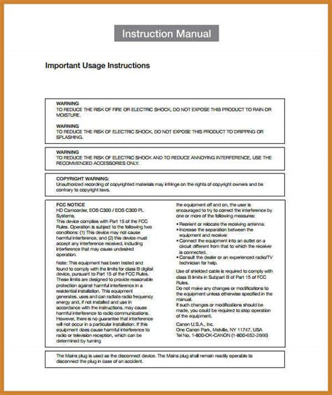 instruction manual template notary letter