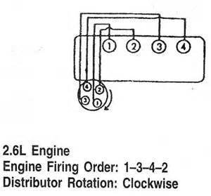lexus orden de encendido firing order vehiculos 1993 97 mecanica automotriz