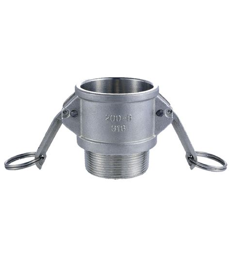 Vicenza Stainless Steel Tipe B stainless steel camlock fitting type b kg machinery