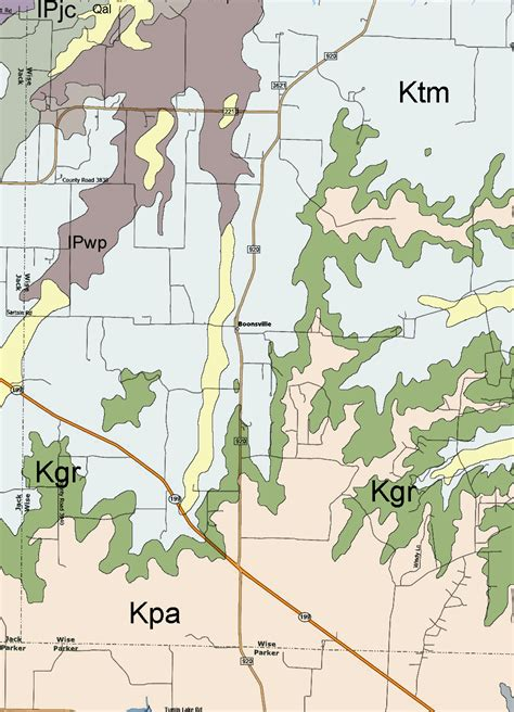 map of wise county texas geology of wise county texas