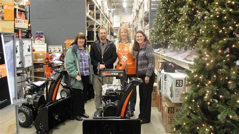 home depot presents winter gift to children s home gj