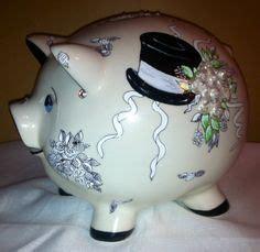 Ceramic 'Honeymoon Fund' Piggy Money Box ~ Engagement Gift