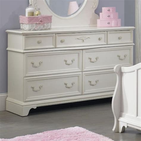 youth bedroom dressers arielle youth bedroom 7 drawer dresser with felt lined top