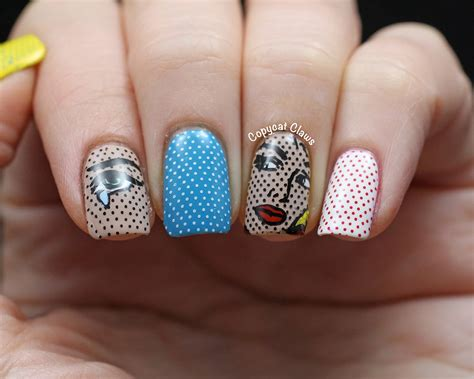 Moyou Nail St Pro Plate 03 copycat claws comic sting decals using moyou images