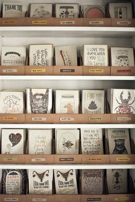 Card Display Ideas - 25 best ideas about greeting cards display on