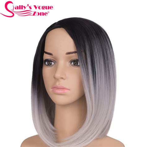 coloring african american gray hair with cheap hair color online get cheap silver bob wig aliexpress com alibaba