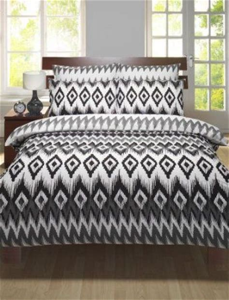 aztec print comforter single size bedding black white grey aztec print duvet