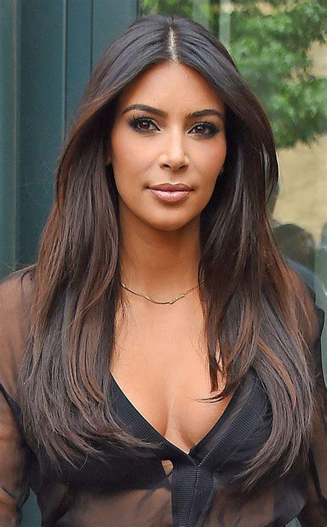 Kim Kardashian Hair Color Highlights | kim kardashian from fall 2014 hair color inspiration