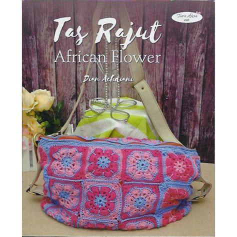Pola Tas Rajut Behel buku tas rajut flower crafts