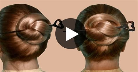 How To Create Hair Stick Hairstyles Tips To Jazz Up Hairst | hairstyle with hair stick by yourself complete live