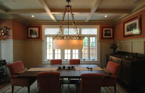 craftsman style  burlingame dining room craftsman