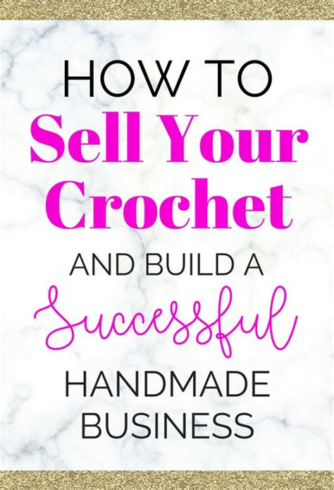 I Want To Sell My Handmade Items - how to sell your crochet and knitting