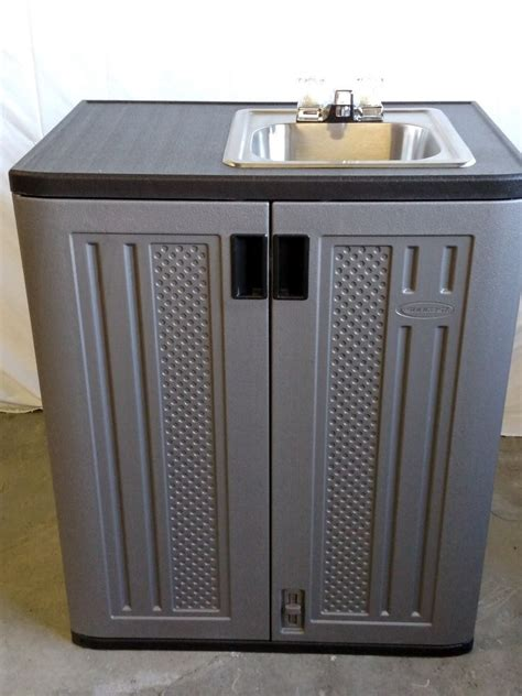 Outdoor Sink Cabinet by Portable Indoor Outdoor Sink With Water Ebay